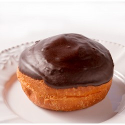 Donut - Chocolate Frosted Donut with Custard