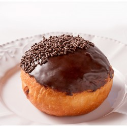 Donut - Chocolate Frosted Donut With Chocolate Sprinkles