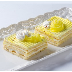 Petit Four - Cake - Lemon Coconut