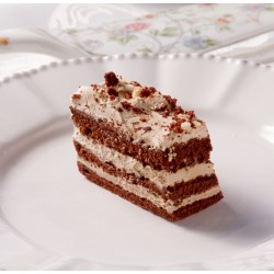 Petit Four - Cake - 2 Layer Iced Chocolate Cake