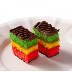 Petit Four - Rainbow Dessert