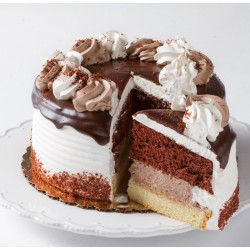 Cake - Round - Iced Shadow Cake