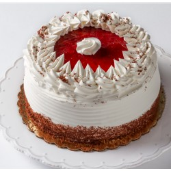 Cake - Round - Strawberry Shortcake